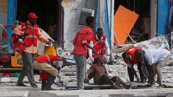 Viele Tote bei Anschlag auf Hotel in Somalias Hauptstadt Mogadischu