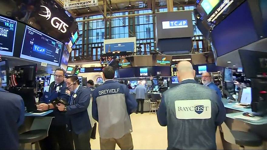 Dow over 20,000, global shares rally