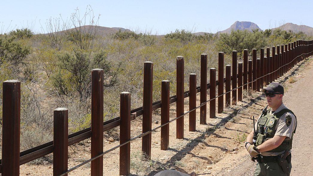 Они не пройдут: США построят стену на границе с Мексикой