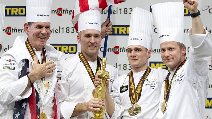 Team USA takes gold at 'Chef Olympics' in France
