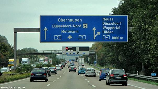 رسوم وفق مقاييس بيئية على السيارات في ألمانيا