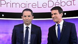 Hamon and Valls clash over the economy in TV debate