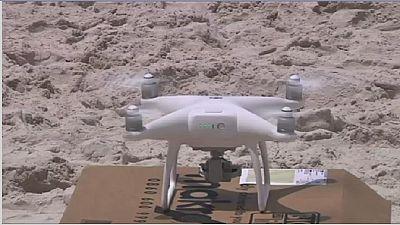 Des chercheurs en Afrique du Sud utilisent des drones pour repérer les requins