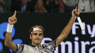 Roger Federer se clasifica para la final del Abierto de Australia
