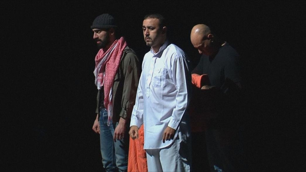 'Jihad' - a play which follows the odyssey of three young Muslims who go to Syria