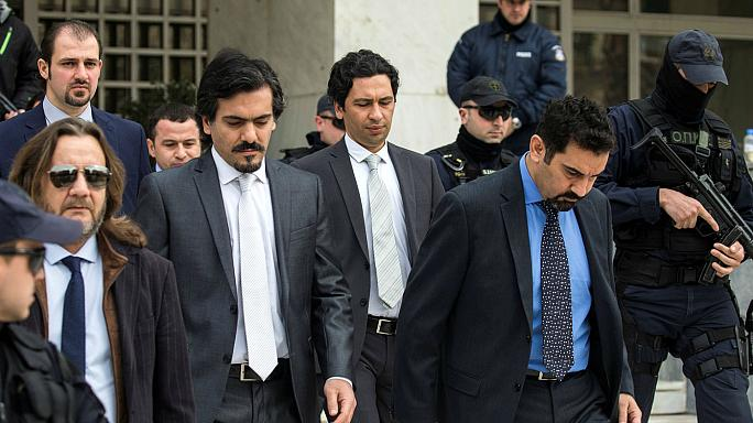 Griechischer Gerichtshof: Türkische Militärs nicht ausliefern