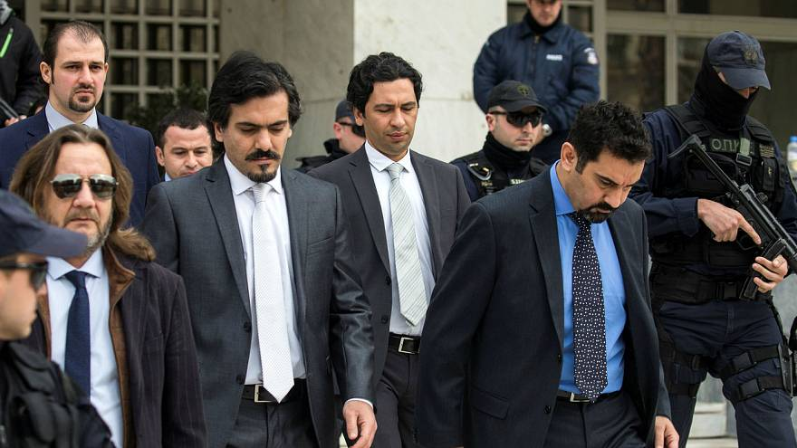 Greece: Supreme Court rules against extraditing 8 Turkish soldiers