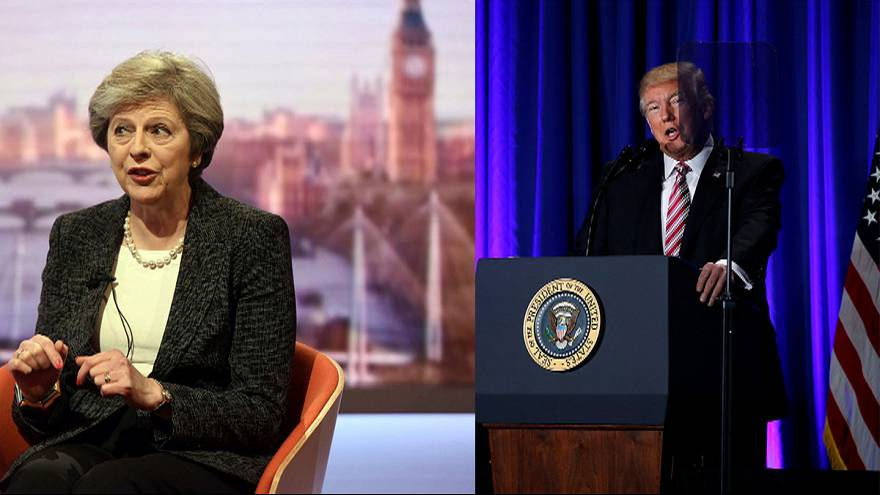 USA: Theresa May Donald Trumppal üzletel