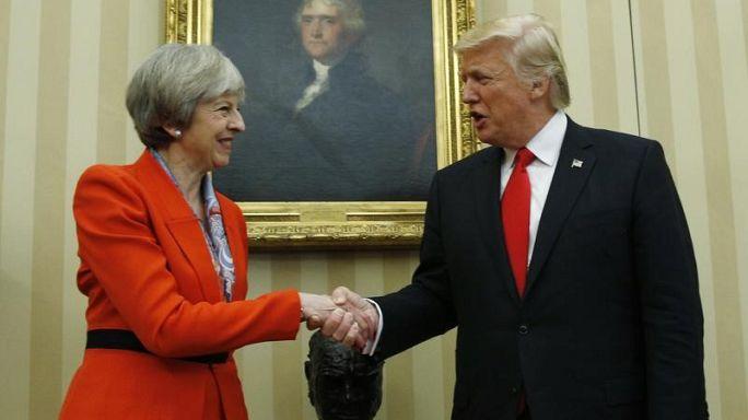 Opinion: Theresa May's Trump Card