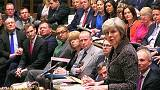"Theresa May cede ao parlamento sem modificar calendário do ""Brexit"""