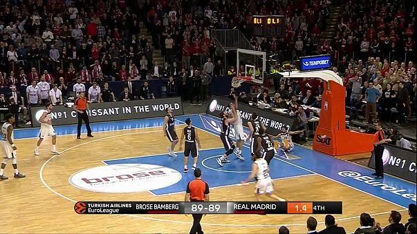 Euroliga: Real iguala CSKA, Olympiacos falha assalto à liderança