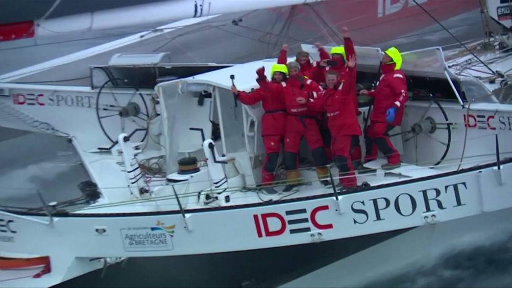 Around the world in 40 days - Joyon sets new sailing record