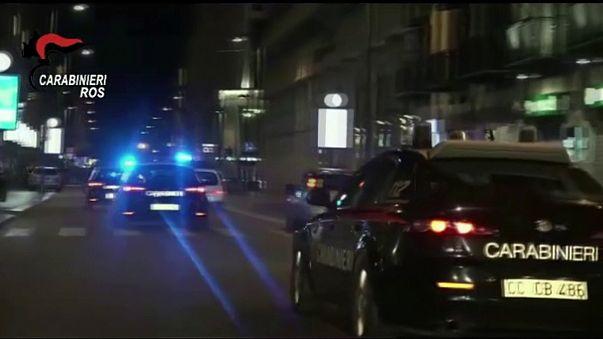 İtalyan polisinden FBI ile birlikte mafyaya operasyon