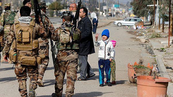 Kritikus fázisban Moszul visszavétele