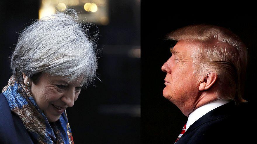 May als erste bei Trump