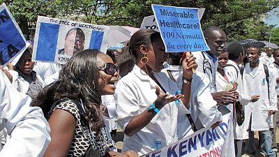 Kenyan doctors to press on with strike despite court warning