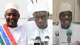 Gambia's exiled elections chief and Jammeh's lawyer return home