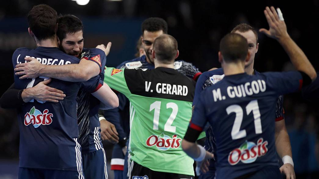 Handball: France beat Slovenia to close in second straight world title