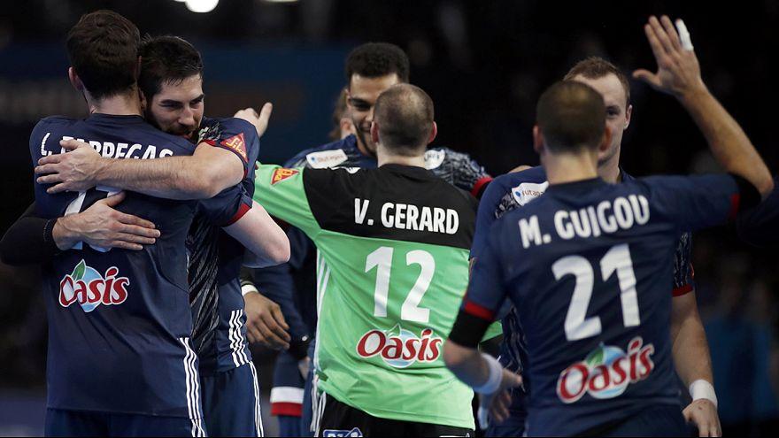 فرنسا تتأهل إلى نهائي بطولة العالم لكرة اليد