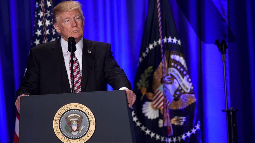 Trump wants swift Republican legislation as Philadelphia protests