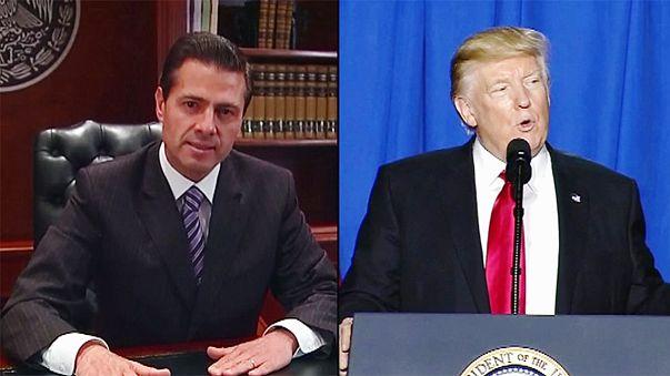 """Meksika - ABD arasındaki """"duvar"""" gerilimi tırmanıyor"""