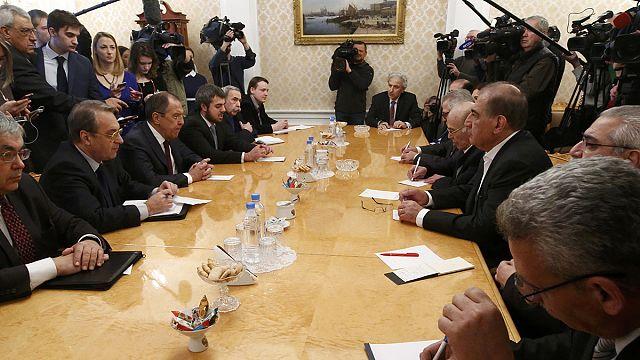 Le chef de la diplomatie russe rencontre des représentants des rebelles syriens