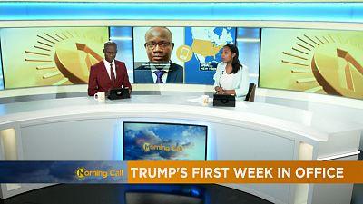 La première semaine de Trump [The Morning Call]
