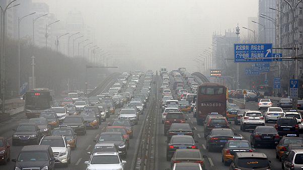 Пекин встретил год Красного петуха без фейерверка