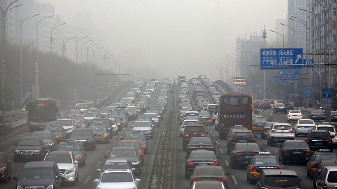 New Year goes dark in China