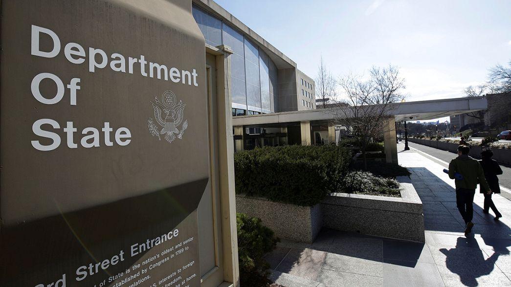 Dimisiones en la cúpula del Departamento de Estado ante la llegada de la Administración Trump