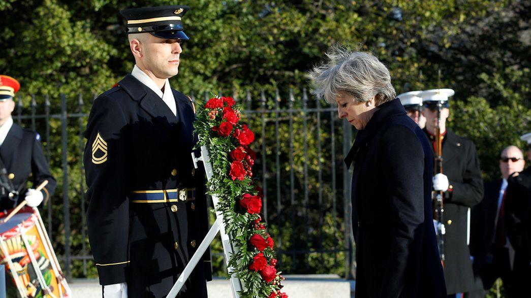 """Тереза Мэй в Вашингтоне укрепляет """"особые отношения"""""""