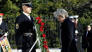 May se reune con Trump para tratar la relación de sus países en la era post-brexit