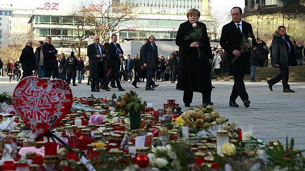 """Merkel y Hollande apuestan por """"una nueva Europa"""""""