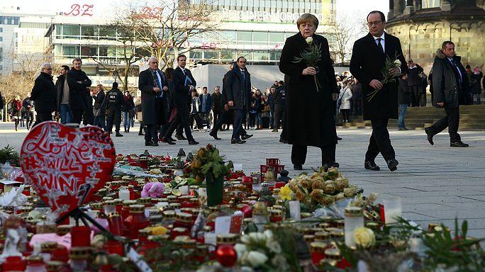 """Più unità"". Da Berlino la replica di Merkel e Hollande all'asse May-Trump"