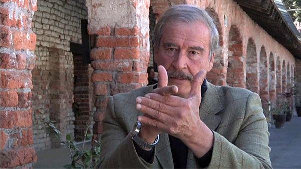 """[Vídeo] El expresidente mexicano Vicente Fox explica su """"no"""" al #fuckingwall a Trump"""