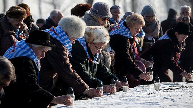 A holokauszt borzalmaira emlékeztek szerte a világon