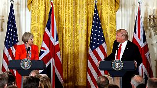 'We are going to get along very well', Trump to May