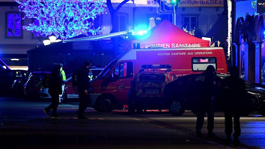 Image: Strasbourg Christmas market shooting