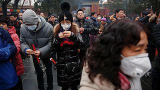 الصينيون يستقبلون السنة القمرية الجديدة