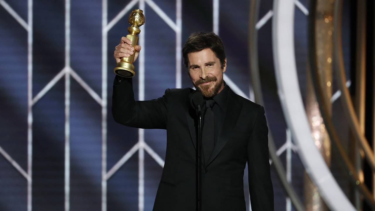 Image: Christian Bale, 76th Annual Golden Globe Awards - Show