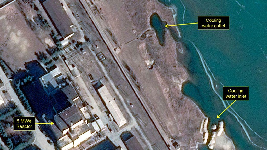 Coreia do Norte: Imagens de satélite indicam reativação de reator nuclear