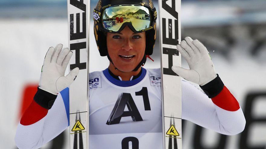 Lara Gut, más cerca del liderato de la Copa del Mundo de esquí alpino