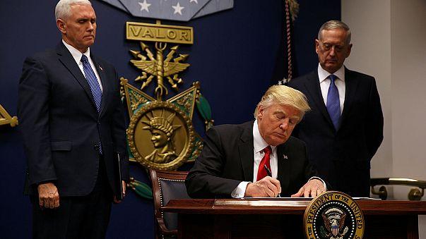 Suriyeli mültecilerden Trump'a tepki
