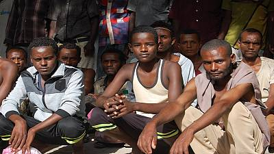 Ethiopian migrants detained in Zambia arrive home