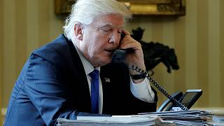 It's good to talk: Trump phones world leaders