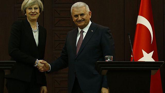 May und Erdogan wollen Handelsbeziehungen ausbauen