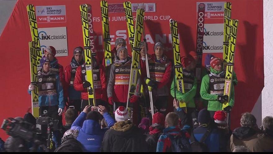 Salto sci, CdM: trionfo polacco nel team event, beffata la Germania