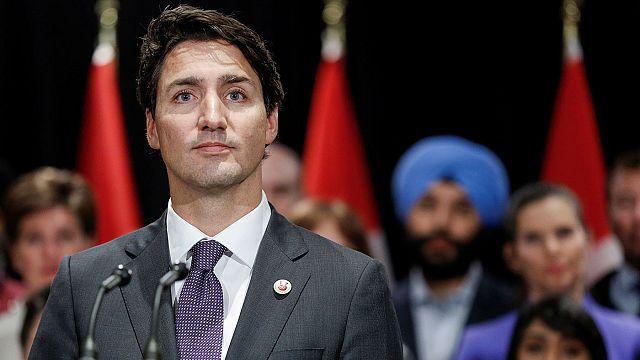 Im Internet: Trudeau und eine halbe Zwiebel gegen Trump