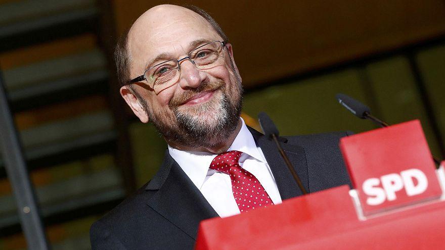 Schulz vai defrontar Merkel nas eleições alemãs