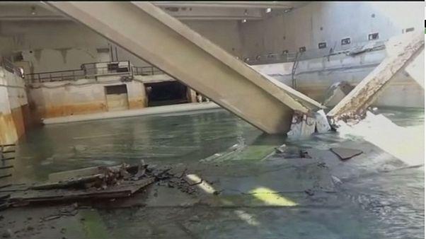 Siria, riparato l'acquedotto di Damasco danneggiato dai combattimenti